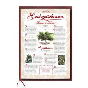 Hochzeitsbaum_Urkunde_exklusive