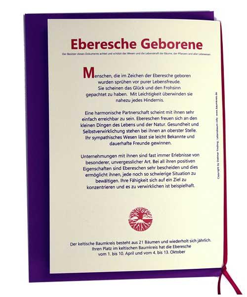 """Lebensbaum Geschenkkarte """"Mädchen"""""""