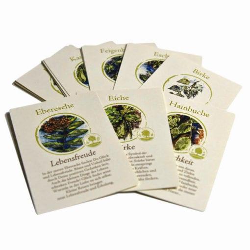 """""""Rat der Bäume"""" Kartenset"""