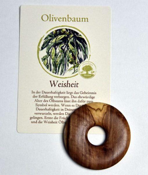Lebensbaum Amulett Olivenbaum