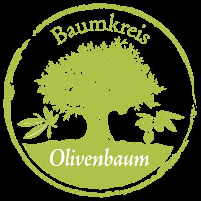 Olive Baumkreis Lebensbaum